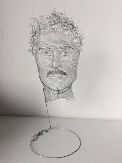 Alexandre Bour, 'Mustache Man', 2019