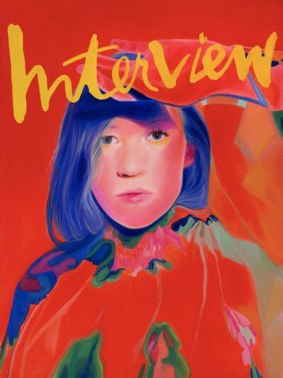 Jen Mann, 'Cover Girl - Interview', 2019