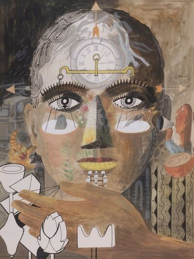 Barbara Mildred Jones, 'Study for Man and his Senses', 1966-1971