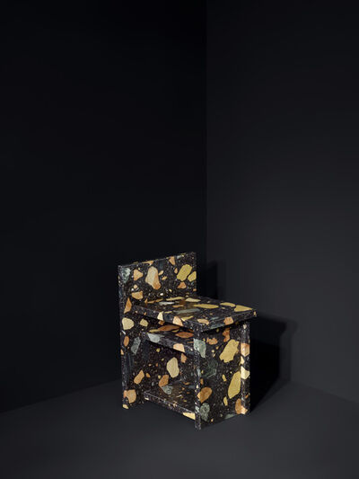 Max Lamb, 'Marmoreal Storage Stool', 2015