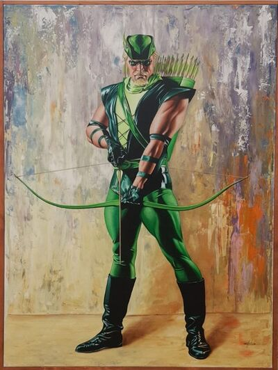 Giovanni Confortini, 'Super Hero, Robin Hood', 2017