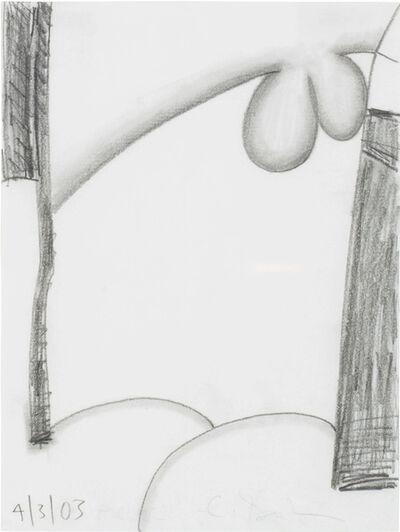 Carroll Dunham, 'Untitled (4-3-03)', 2003