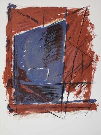 Albert Ràfols-Casamada, 'A.L. (avant la lettre) Barcelona 84', 1984