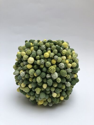 Avital Avital, 'Stamens Vase (Green)', 2018