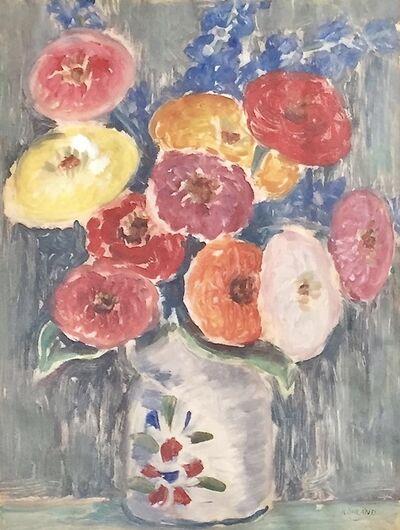 Paul Rohland, 'Flowers', ca. 1921
