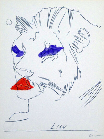 Andy Warhol, 'Lion', ca. 1970