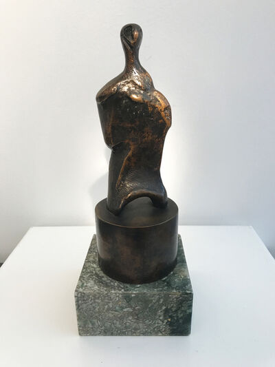 Henry Moore, 'Three-Quarter Figure on Tubular Base', 1983