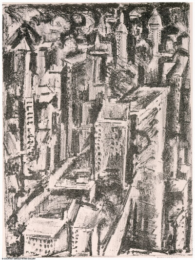 Max Weber, 'New York', ca. 1928