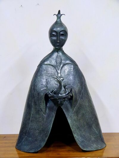 Leonora Carrington, 'La Dragoneza', 2010