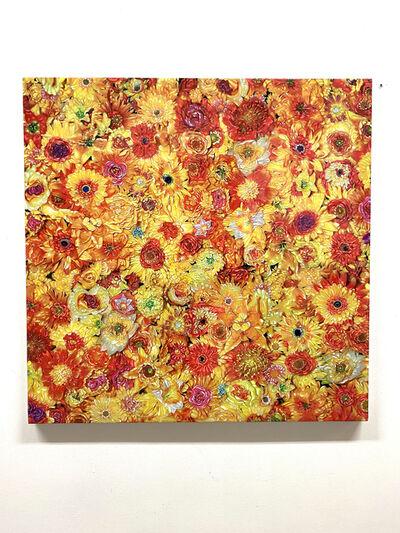 Tetsutaro Kamatani, 'PROLIFERATION- FLOWER YELLOW', ca. 2020
