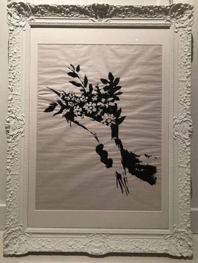 Banksy, 'GDP Flower Thrower ', 2019