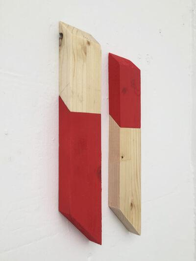 Luis Romero, 'Matches (Rojo/Crudo)', 2019