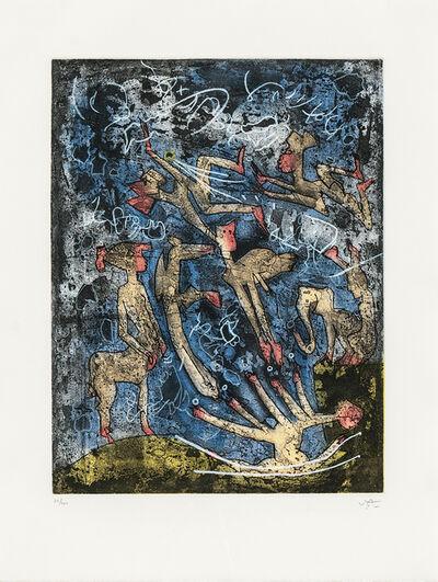 Roberto Matta, 'L'Âme de tarot thélème/A Portfolio of Five Works', 1994