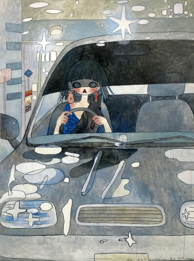 Aya Takano, 'DRIVE WITH A NIGHT DOG', 2006