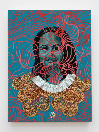 Suchitra Mattai, 'Self portrait as I was and as I am', 2020