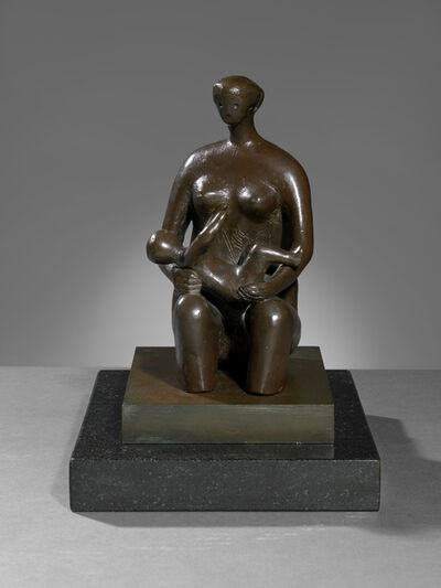 Henry Moore, 'Mother and Child: Round Form', 1980
