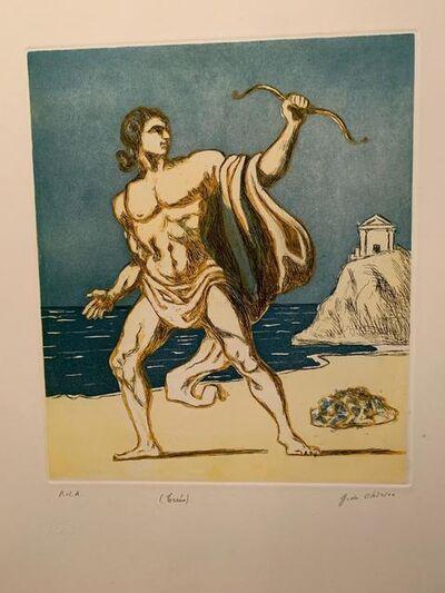 Giorgio de Chirico, ' Teseo (Seconda versione)', 1970