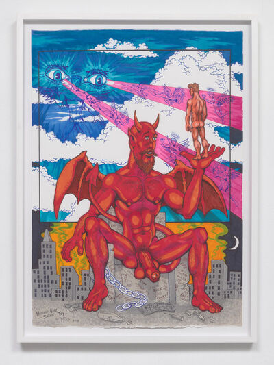 Mike Kuchar, 'Heaven's Gift, Satan's Toy', 2018