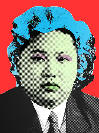Cartrain, 'Kim Jong-un', 2016