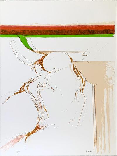 """Adrian Heath, 'Untitled"""" - Rothko Memorial Portfolio""""', 1973"""