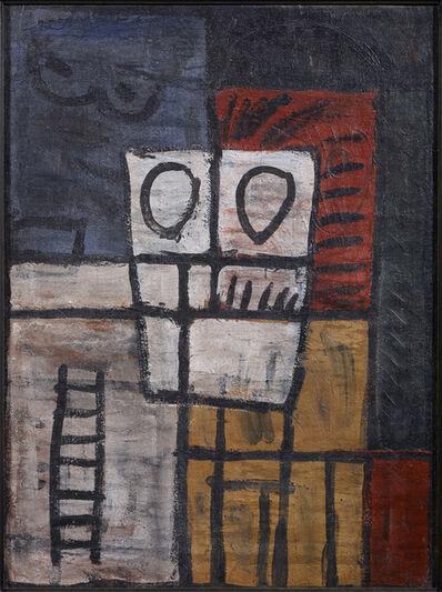 Joaquín Torres-García, 'Forma anímica en una estructura (Animistic form in a structure)', 1929
