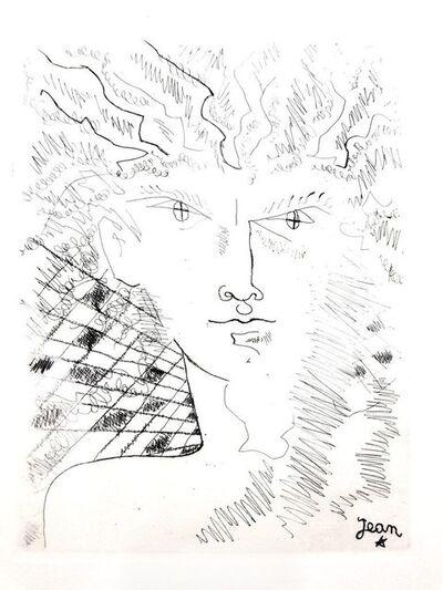 """Jean Cocteau, 'Original Etching """"Portrait"""" by Jean Cocteau', 1946"""