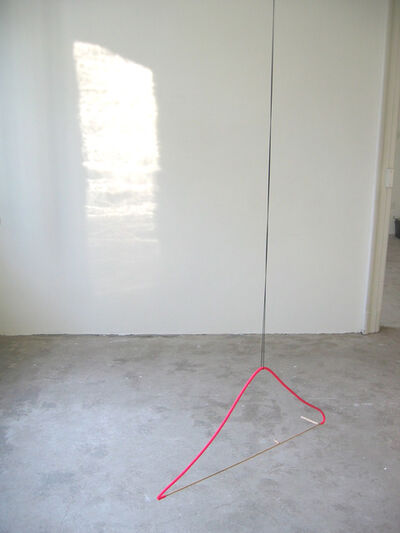 Margrét H. Blöndal, 'Untitiled (stick, rubber tube, watercolor and string)', 2005