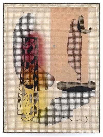 David Renggli, 'Floorplan Desire Painting (The Door)', 2018