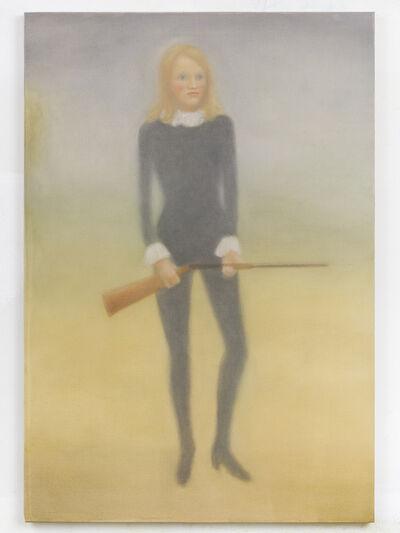 Chechu Álava, 'Niki de Saint Phalle y el fusil de pintar', 2018