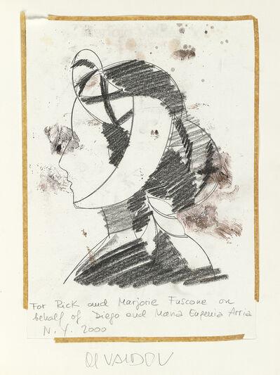 Manolo Valdés, 'Sin Título (Mujer en profil).', 2000