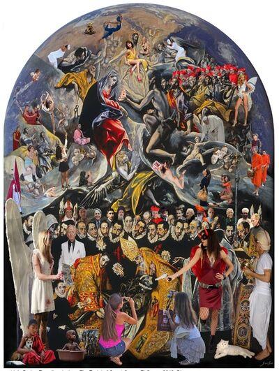 Lluis Barba, 'El Entierro del Conde Orgaz, El Greco ', 2018