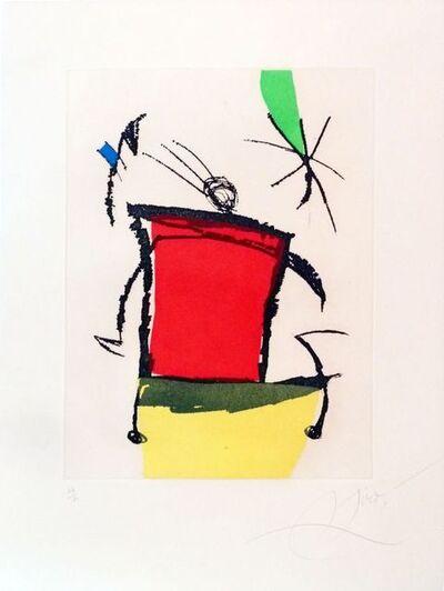 Joan Miró, 'Le Chanteur des rues V ', 1981