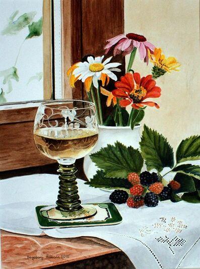 Ingeborg Haeberle, 'greetings from the garden', 2015
