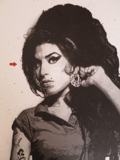 Jef Aérosol, 'Amy Winehouse', 2016