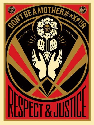 Shepard Fairey, 'Don't be a MFR', 2015
