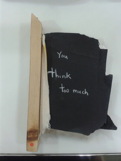 Oscar Figueroa, 'Book (You Think Too Much)', 2013