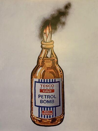 Banksy, 'BANKSY TESCO PETROL BOMB, ORIGINAL LITHOGRAPH 1/2000 LTD EDITION ', 2011