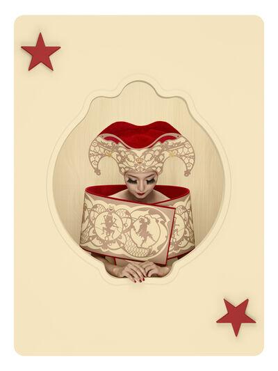 Christian Tagliavini, 'Carte / La Matta Rossa', 2012
