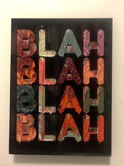 Mel Bochner, 'Blah Blah Blah', 2008