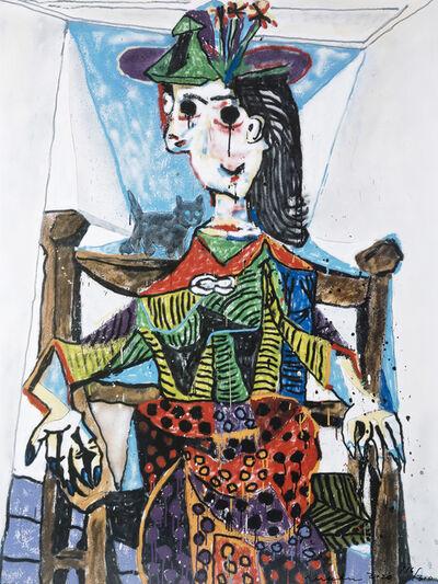 MADSAKI, 'Dora Maar au Chat', 2020