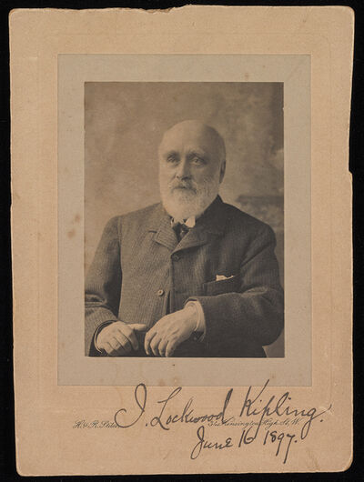 H. & R. Stiles, 'John Lockwood Kipling', ca. 1897
