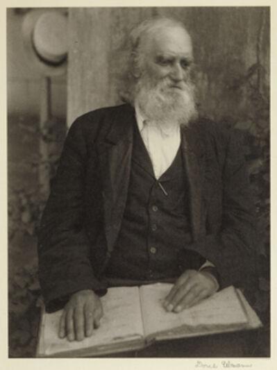Doris Ulmann, 'Brother William of the Shaker Settlement, Mount Lebanon, New York', 1925-1927