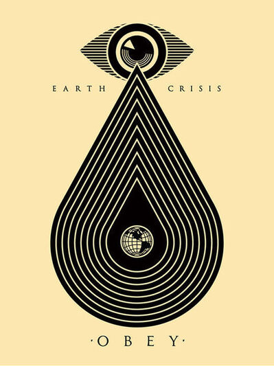 Shepard Fairey, 'Earth Crisis White', ca. 2017