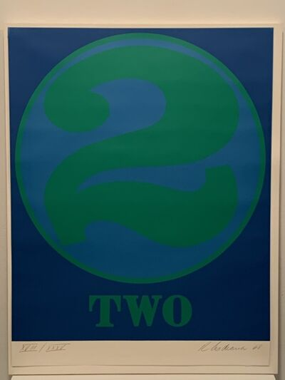 Robert Indiana, 'Two (Numbers Series)', 1968