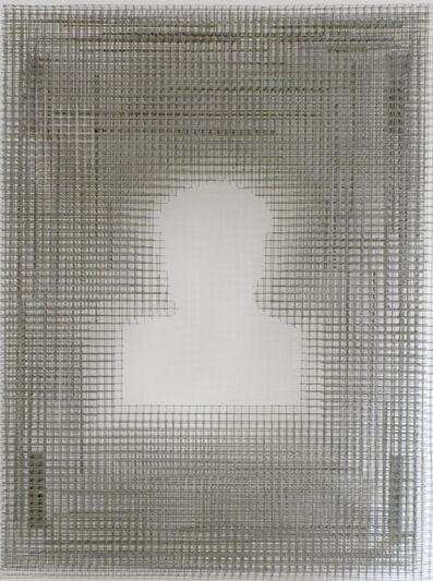 Zhang Hongtu, 'Material Mao Series - Mesh Mao', 1992