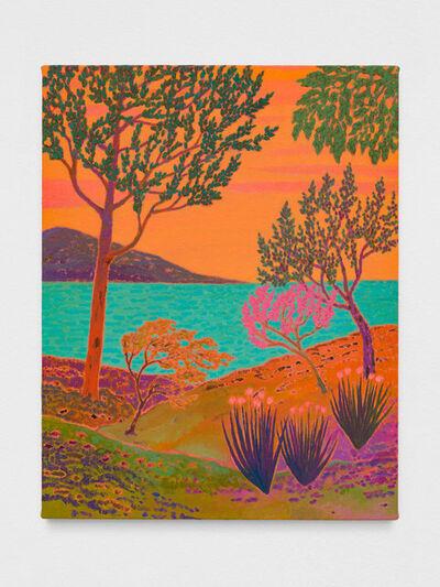 John McAllister, 'verdant whispery', 2019