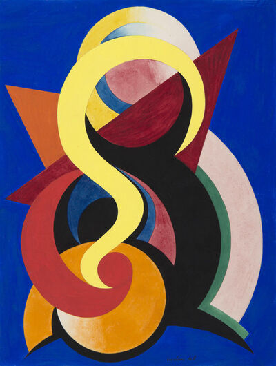 Auguste Herbin, 'Composition', 1940