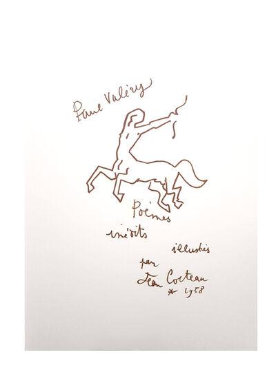 """Jean Cocteau, 'Original Lithograph """"For Paul Valery"""" by Jean Cocteau', 1958"""
