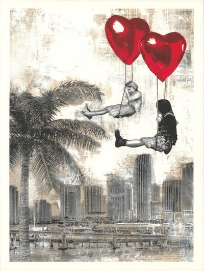 Mr. Brainwash, 'Love is in the Air - Miami', 2019