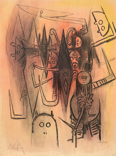 Wifredo Lam, 'Untitled', 1974